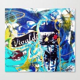VIVALDI in Venice       by Kay Lipton Canvas Print