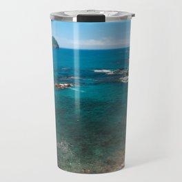 Small bay and islet Travel Mug