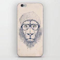 Cool lion iPhone Skin