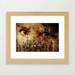In Your Mothers Eyes Framed Art Print
