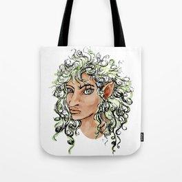 Female elf profile 1a Tote Bag