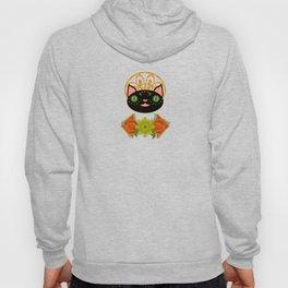 Smiling Black Cat Hoody
