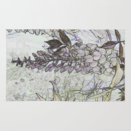 Wisteria Abstract Rug