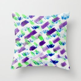 Stuff and Things Throw Pillow