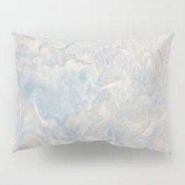 Marble Waves Pillow Sham