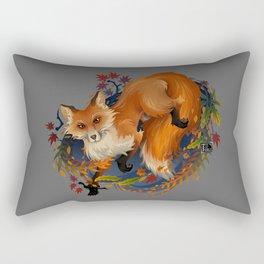 Sly Fox Spirit Animal Rectangular Pillow