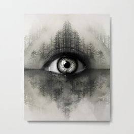 Misty Witness Metal Print