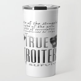 True Detroiters Travel Mug