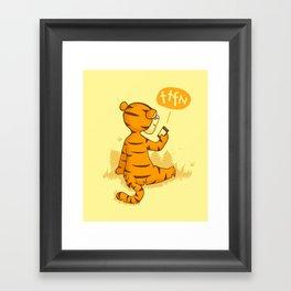 Ta Ta For Now Framed Art Print