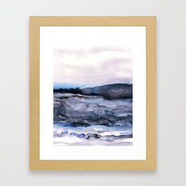 layers of colour 2 Framed Art Print