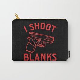 Shoot Blanks Bullet Firearms Kill Police Carry-All Pouch