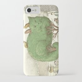 The Night Gardener - The Cat Tree iPhone Case
