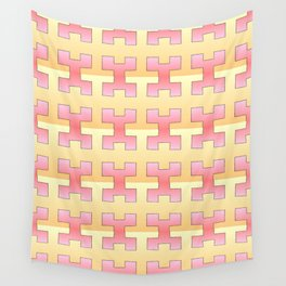 symetric patterns 48 -mandala,geometric,rosace,harmony,star,symmetry Wall Tapestry