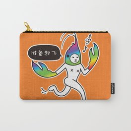 Crayfish Man Carry-All Pouch