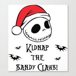 KIDNAP THE SANDY CIAWS Canvas Print