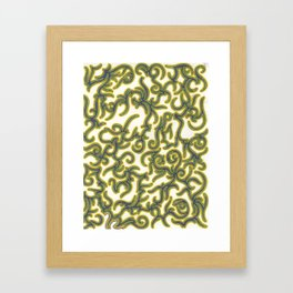 The Green Knight Framed Art Print