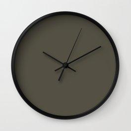 Grape Leaf Wall Clock