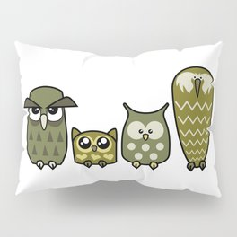 All is Owly (gold) Pillow Sham