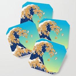 Shiba Inu in Great Wave Coaster