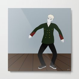T.O.P { zutter dance practice } . Metal Print