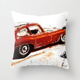 secondhand car Throw Pillow