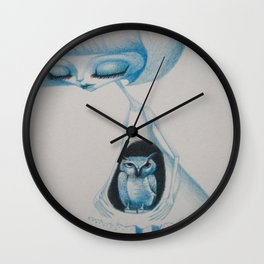 the owl's daughter Wall Clock