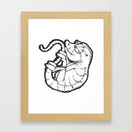 Chameleon Bomb Squad Framed Art Print