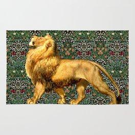 Medieval Lion Rug
