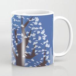 Tree in the moonlight Coffee Mug
