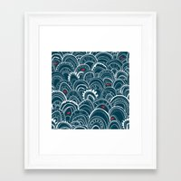 sailing Framed Art Prints featuring sailing by Pardabon