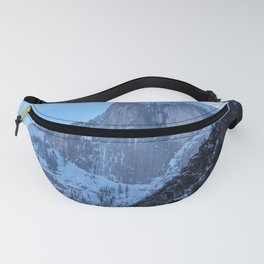 Half Dome in Winter Fanny Pack