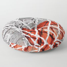 Basketball Art Floor Pillow