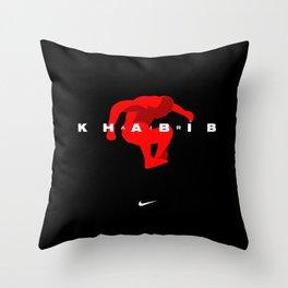 Air Khabib Nurmagomedov Throw Pillow