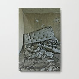 Tossed and Turned Metal Print