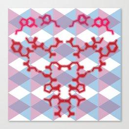A Chemical Connection Canvas Print