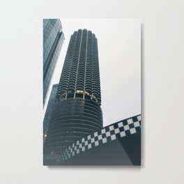 CheckeredCob Metal Print