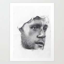 Niall (incomplete) Art Print