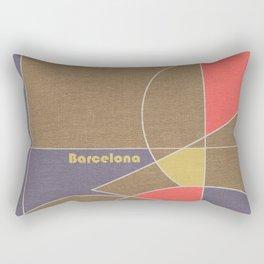 Barcelona Mosaic Rectangular Pillow