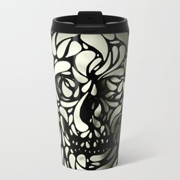 Skull Metal Travel Mug