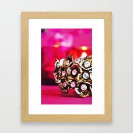 Burnished cluster Framed Art Print