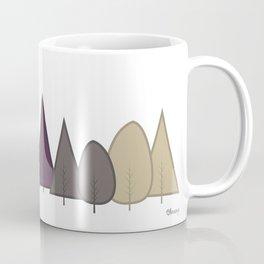 Fall Trees - Modern Coffee Mug