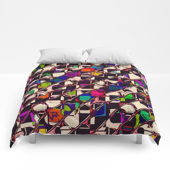 Pitter Patter Prism Comforters