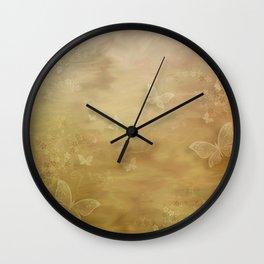 Butterfly Dreams Wall Clock