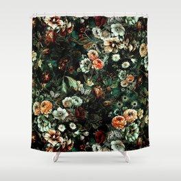 Night Garden VI Shower Curtain