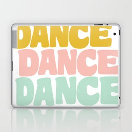 Dance in Candy Pastel Lettering Laptop & iPad Skin