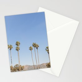 On California Time Stationery Cards
