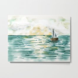 Messing About In Boats Metal Print