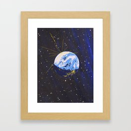 We Lifted Candles To The Sky As If The Stars Were Interactive Framed Art Print