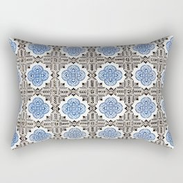 Portuguese Tiles 5 Rectangular Pillow