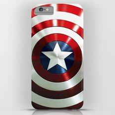 Captain Steve Rogers Shields  iPhone 6 Plus Slim Case